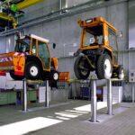 Waste management Munich-Inground Truck Lift 2 Bulldozer-PI-2004-04